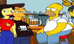 juego Colorea y Dibuja a Los Simpsons