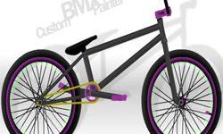 juego Dibuja y Colorea Bicicletas BMX