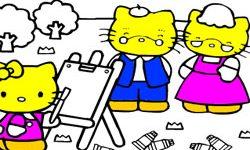 juego Dibujar A Hello Kitty