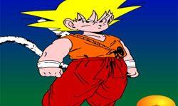 juego Pintar A Goku
