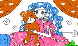 juego Pintar Super Princesa