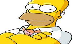 juego Pintar A Homero Simpsons