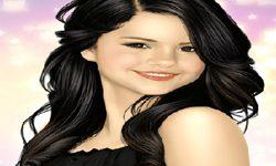 juego Pintar A Selena Gomez