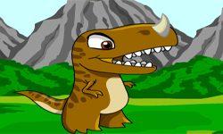 juego Pintar Dinosaurios