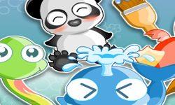 juego Pintar Los Animales Amigables