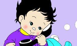 juego Pintar bebe y su osito